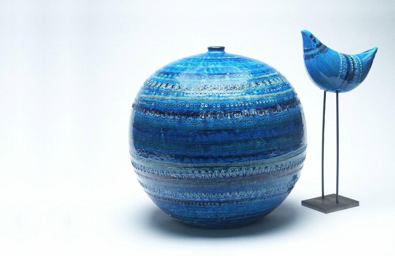 Gruppo Ceramica E Complementi.Rimini Blu By Aldo Londi For Bitossi Ceramiche Mu De To Museo